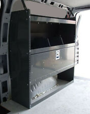 """Van Shelving with Door Kit - Ford Transit Connect 38""""L x 44""""H x13""""D"""