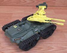 Vintage 1991 Hasbro GI JOE Green & Yellow Street Fighter Sonic Boom Tank Toy