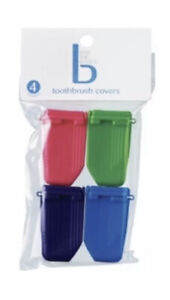 Cvs Toothbrush Covers 4 count ~  Case Cap Camping Cover