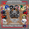 PICK YOUR PLAYER 2020 GOLD RUSH SPECIALTY EDITION FS HELMET (1)BOX BREAK #60