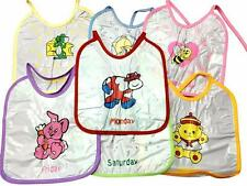 Baby Bibs One Per Day with Picture and Day Name