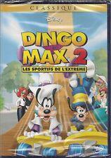 """DVD """" Dingo et Max 2"""" DISNEY  N 55   NEUF SOUS BLISTER"""
