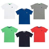 Boys Polo Logo Cotton T Shirt 2,3,4,5,6, 7,8,9,10,11,12,13YRS Various Colour NEW