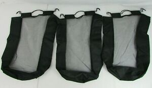 Set Of 3 Replacement Bags For Household Essentials 3-Bag Laundry Clothes Hamper