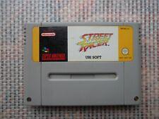 Jeu Super Nintendo / Snes Game Street Racer retrogaming PAL authentic *