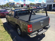 Tradesman Rack set - Black Powdercoat - Holden RG Colorado / Isuzu Dmax