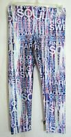 Terez For Soulcycle Multicolored Cropped Pants Size Small EUC