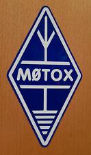 Indicativo di chiamata Decalcomania Sticker Diamond Logo riflettente blu e bianco Ham Radio amatoriale