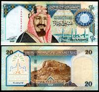 SAUDI ARABIA 20 RIALS 1999 P 27 UNC
