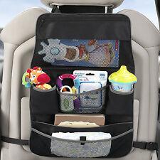 BNIB Backseat & Stroller Organizer Car Seat Back Cover Protector Colour Black