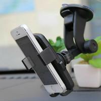 360° In Car Phone Holder Suction Dashboard Windscreen Universal Mount Black UK
