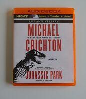 Jurassic Park - by Michael Crichton - MP3CD - Unabridged  Audiobook