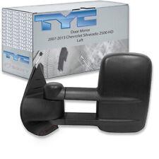 TYC Left Door Mirror for 2007-2013 Chevrolet Silverado 2500 HD  lm
