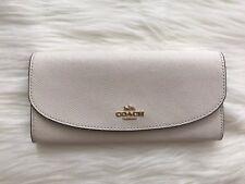 Brand New COACH Chalk Slim Envelope Wallet F54009 MSRP $250