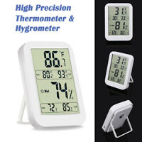 Digital LCD Humidity Hygrometer Temperature Thermometer Indoor and Outdoor TH028