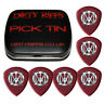 6 x Dunlop Flow John Petrucci Guitar Picks / Plectrums - 2.00mm In A Pick Tin