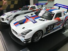 """Carrera Digital 124 23825 MERCEDES BENZ SLS AMG gt3 """"MARTINI N. 33"""", Hankook"""