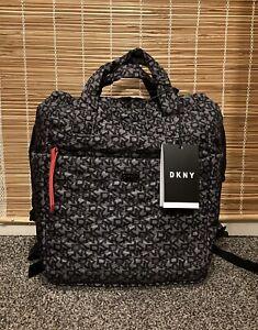 DKNY Drawstring Sports Travel Backpack Luggage Bag Grey New RRP £140.00
