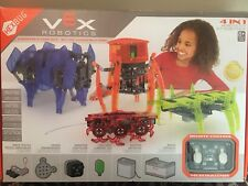VEX 4-in-1 Robotics Kit by HEXBUG, Build 1 At A Time