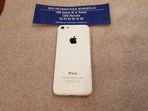 Coque Arrière Blanc Cache Batterie Original Apple iPhone 5C A1456