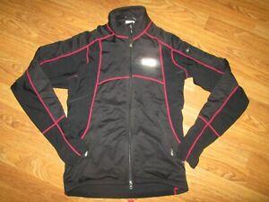 Mens LOUIS GARNEAU waterproof thermal reflective riding cycling jacket  M Md Med