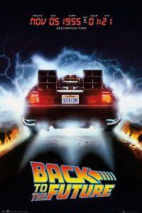 Back To The Future  Delorean  Maxi Poster size 61x91.5cm FP4929