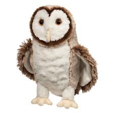 SWOOP the Stuffed BARN OWL Plush - by Douglas Cuddle Toys