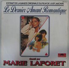 Le dernier amant romantique 45 tours Marie Laforet Just Jaeckin 1978