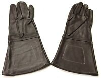 CIVIL WAR US UNION CSA CONFEDERATE LEATHER GAUNTLETS GLOVES-LARGE