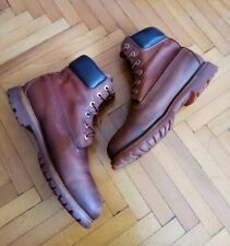 Womens Red Timberland Boots Size 5