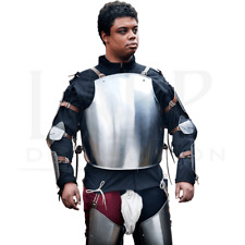 18GA Steel Medieval Armor Cuirass/Breastplate Gothic Chest Plate Costume BR98