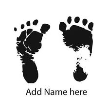 Custom Baby feet rubber stamp NEW 2 inch new baby shower