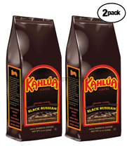 "Kahlua BLACK RUSSIAN Gourmet Ground Coffee 2 BAGS 12oz EACH ""NEW"" FRESH"
