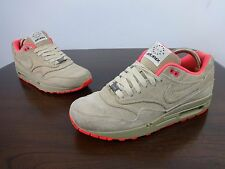 Nike Air Max 1 trainers size 8 UK Milano 'Milan' Hometurf Series linen,red mens