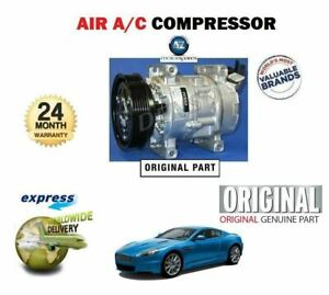 ORIGINAL AIR CONDITION AC COMPRESSOR 6G3319D629AA 4G4319D629AA ASTON MARTIN DB9