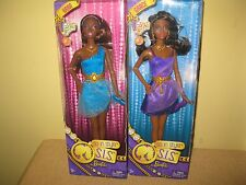2 Barbie S.I.S. So in Style African American Doll KARA GRACE Prom dress Mattel