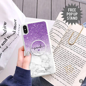 Personalised Phone Case Cover And Text Holder Stand For Apple Samsung 152-2