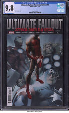 Ultimate Fallout #4 Facsimile Edition CGC 9.8 - Mark Bagley cover Miles Morales