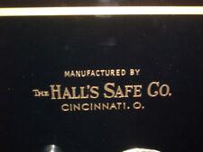 """Hall's Safe Co. Lettering/Emblem/Sticker, Gold Metallic Letters"