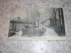 1918.carte postale moulin Clamanges Marne
