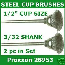 PROXXON 28320 TUNGSTEN CARBIDE SPEAR DRILLLS 1.00 1.2mm PEARL /& CORAL DRILLING