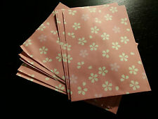 DECORATIVE PAPER PARTY GIFT BAG ENVELOPES SAKURA CHERRY BLOSSOM PINK SET OF 10
