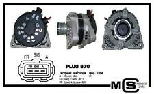 NEUF d'ORIGINE FORD FOCUS 03-07 C-Max I 07-10 2.0 TDCi ALTERNATEUR
