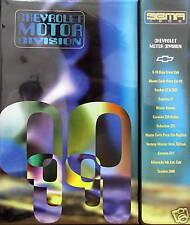 1999 Chevrolet SEMA concepts press kit notebook