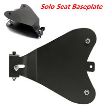 HeavyDuty Steel Solo Seat Baseplate Bracket Base Mount For Chopper Bobber