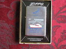 Zippo Lighter 1963 Advertising Shark River Co. Everglades FL, MIB