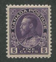 CANADA #112 MINT VF
