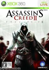 Used Xbox 360 Assassin's Creed II  MICROSOFT JAPAN JP JAPANESE JAPONAIS IMPORT