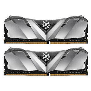 XPG GAMMIX D30 Desktop Memory: 16GB (2x8GB) DDR4 3200MHz CL16 BLK