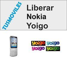 LIBERAR NOKIA YOIGO X6 X3 N97 MINI C6 N8 X7 E7 E5 5800 C5 5800 6700 5310 5830